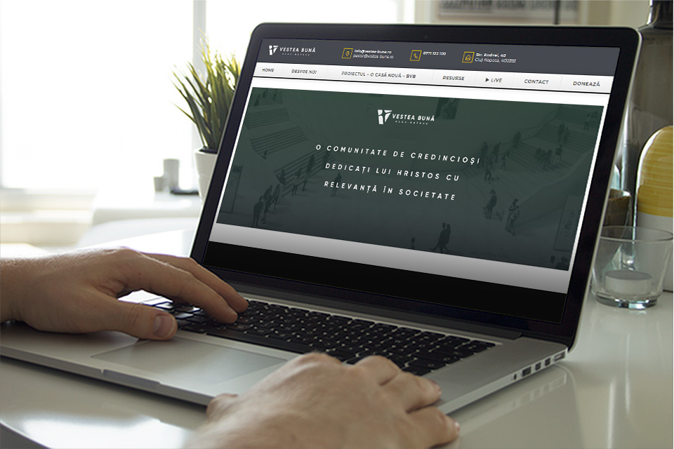Lansare site vestea-buna.ro